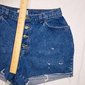 Pants - Women's 11 Vintage Button Fly Jean Shorts